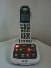 BT 4000 Big Button Cordless Phone with Speaker, Call Blocking. caller ID Single