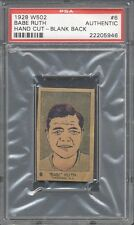 1928 W502 #6 Babe Ruth PSA Authentic