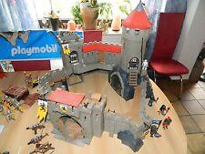 PLAYMOBIL große Löwenritterburg 4865 mit viel Zubehör und großen Drachen