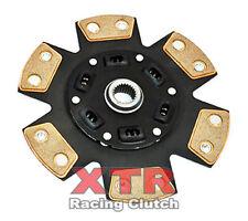 XTR 6-PUCK STAGE 3 CERAMIC CLUTCH RACE DISC for 08-12 MITSUBISHI LANCER EVO 10 X