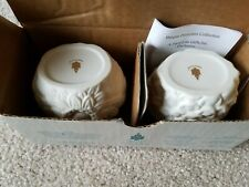 Partylite P7134 May Flowers Tealight Holders (pair) New in Box