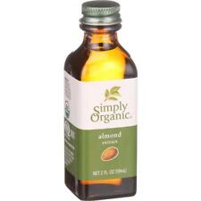 Simply Organic-Almond Extract, Pack of 6 ( 2 oz bottles )