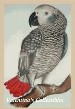 Counted Cross Stitch GREY PARROT - COMPLETE KIT No. 2-363/2 KIT