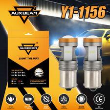 AUXBEAM 1156 20W 480lm 6000K CSP LED Headlight Bulbs Kit Super Bright Fog Lights