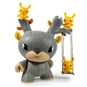 """Kidrobot 20"""" Vinyl Gary Ham AUTUMN STAG Dunny Figure RARE ONLY 40 MADE SIGNED!"""