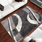 salon Tapis joli motif nombreux variantes Tapis design en gris