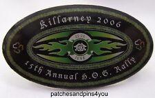 Harley Davidson Killarney 2006 15th Annual HOG Rally Pin. New! FREE UK P&P!