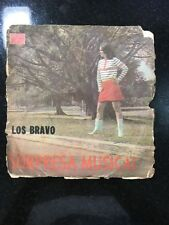 Cuban 45 rpm EP LOS BRAVO / Hasta Santiago a Pie, Tirala por el balcon, La Batea