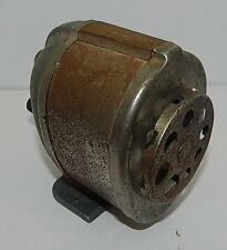 Vintage Boston Model KS Manual Pencil Sharpener Industrial Gray Used