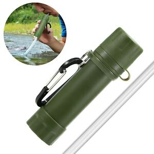 Outdoor Water Filter Straw Filtration System Purifier For Emergency Preparedness