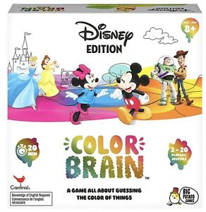 Disney Edition Colour Brain Card Game Toy Family Fun 2-6 Players Kids/Child 8y+