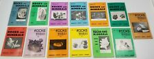 Rocks and Minerals Bi-Monthly Publication Magazines, 1957 - 1968, 13 Issues