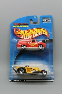 HOT WHEELS WALGREENS EXCLUSIVE 2 VEHICLE SET '65 FORD PANEL & DRAG FROM 2000 NOC