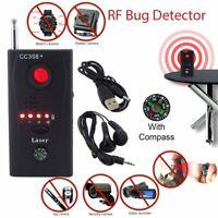 Anti Spy Hidden Camera Lens Bug Detector GSM GPS Signal Finder RF Tracker Audio