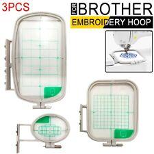 3PCS Embroidery Hoop Set for Brother SE400 SE425 SE600 SE625 PE525 PE550D