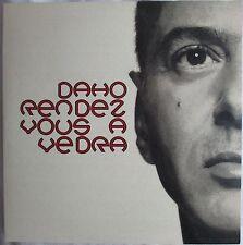 """ETIENNE DAHO - CD SINGLE PROMO """"RENDEZ-VOUS A VEDRA"""""""