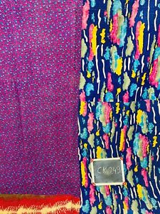 Kantha Fabric Breadspread Yoga mat handemade Gudri Blanket  beech matEtc.