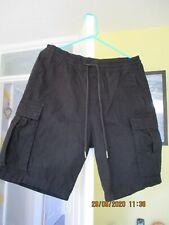 H&M Mens Black Shorts Size Med.