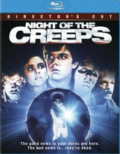 NIGHT OF THE CREEPS New Sealed Blu-ray