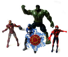 "Marvel Universe escala 3,75 ""cifras Lote, Spiderman, Ironman Hulk +"