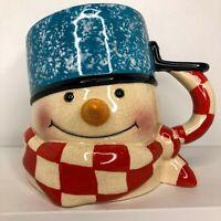 Hallmark Mitford Frosty the Snowman XL Coffee Cup Hot Cocoa Mug Christmas Winter