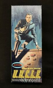 Vintage 1966 AURORA THE MAN FROM UNCLE NAPOLEON SOLO KIT In Box #411-98
