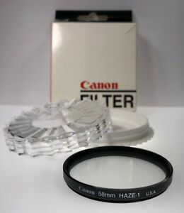 Genuine Canon 58mm Haze-1 Lens Filter