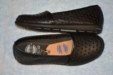 RIVERS SHOES. Size 41 - 9.5. BLACK LEATHER Shoes. NEW. Flat Sole. BALSTA Style