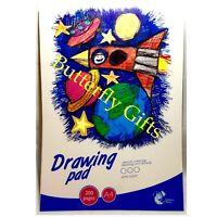 A4 Drawing Pad Kids 200 pages White Paper Children's Craft Drawing Pad