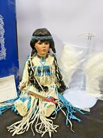 ANGEL FEATHER - American Artists Collection Porcelain Doll By KAIS NWB -478/600