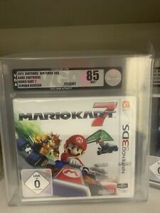 VGA Wata 85 NM+ Near Mint + - Nintendo 3DS Mario Kart 7 - First Print