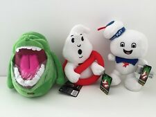 """Ghostbusters Stay Puft Slimer Sign Electronic Set Soft Plush Toy SOUNDS NEW 8.5"""""""