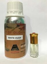 WHITE OUDH BY OUDH AL ANFAR 12ML EXCLUSIVE PERFUME OIL LONG LASTING WOODY SWEET