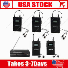 Takstar WPM-200 Stage Monitor System 1xTransmitter+5xReceivers Multiple Wireless