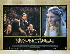 IL SIGNORE DEGLI ANELLI COMPAGNIA DELL'ANELLO fotobusta poster Lord Of Ring X17