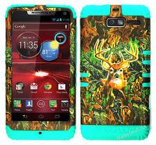 KoolKase Hybrid Cover Case for Motorola Droid Razr M XT907 - Camo Mossy Deer