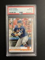 Pete Alonso 2019 Topps Rookie Card RC #475 PSA 10 GEM MINT New York Mets