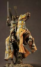 Tin soldier 54 mm Superb Elite Luxury painting in St.Petersburg.Medieval Knight