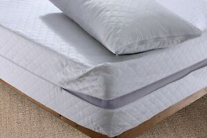 100% Anti BUG dust mite Zipped Mattress Cover ALL SIZE Bed Matress Protector