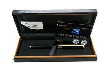 Estilografica pluma fuente Crocodile 368 Plumin de 22k convertidor negra 4273neg