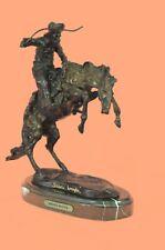 Remington Museum Quality Bronco Buster White House Decor Bronze Sculpture Gift