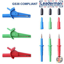 LDM101 Clips & Probes for Fluke 1651 1652 1653 1654 Multifunction Testers