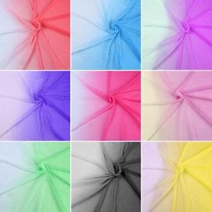 2 tone gradient ombre color shade fabric 100D chiffon tissu evening dress 1 YARD