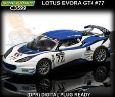Scalextric C3599 Lotus Evora GT4 #77 - 1:32 scale slot car
