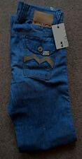 BNWT Mens Blue Energie Connelly Slim Leg/Straight Style Wash Jeans W28L33 RRP£75