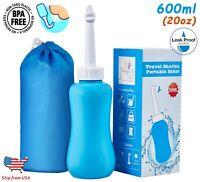 Portable Bidet Sprayer 600ml Personal Handheld Travel Toilet Hygiene Bottle