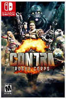 CONTRA ROGUE CORPS Nintendo Switch Brand New Sealed