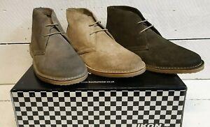 Men's Ikon SM5378 Canyon Suede Leather 2 Eye Desert Boots