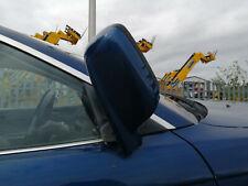 bmw e46 330 coupe o/s driver side power folding electric mirror (topas blue)