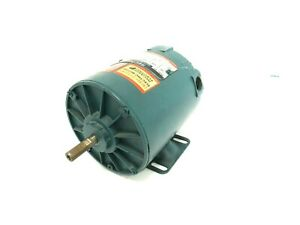 "NEW RELIANCE ELECTRIC P48H1302N-PQ MOTOR 1/4HP 1725RPM 208-230/460V 1/2"" DIA"